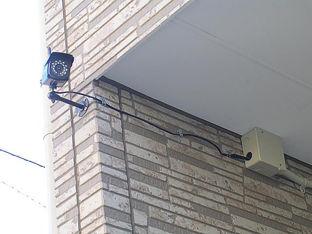 我が家の防犯カメラ設置場所
