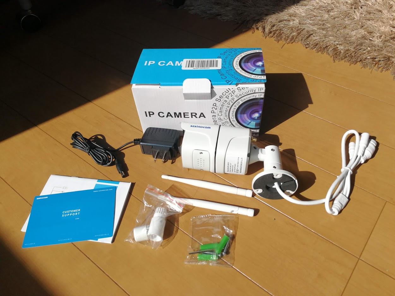 【買ってはいけない!】szsinocamの防犯カメラを買ってみたらインチキ商品だった!SN-IPC-HW15