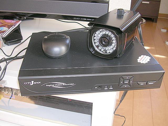 防犯カメラレコーダー
