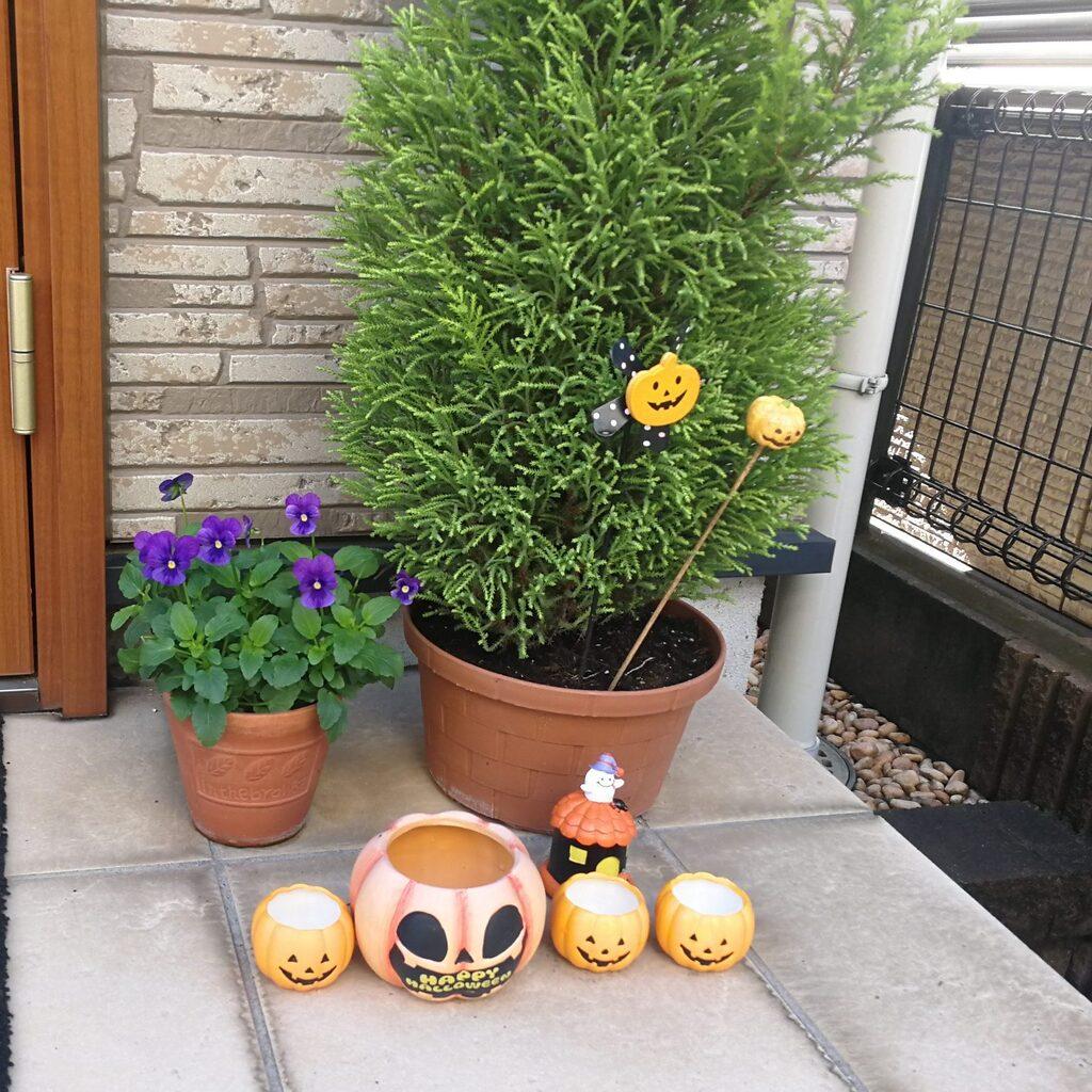 玄関前 鉢植え 盗難